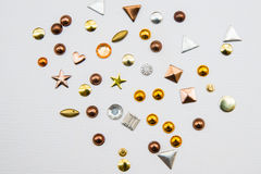 Studs Royalty Free Stock Images