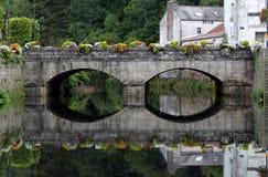 Study of Ancient Bridge Royalty Free Stock Photo