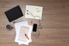 Study Background Stock Photography