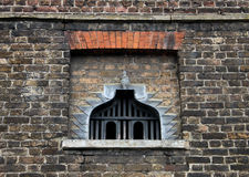 Study of brickwork with Dovecote Stock Photography