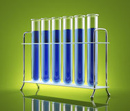 The study of chemistry Royalty Free Stock Photo