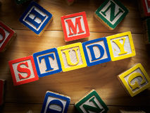 Study concept Stock Photography