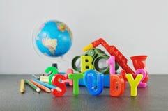 Study conceptual image Stock Photos