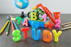 Study conceptual image Royalty Free Stock Images