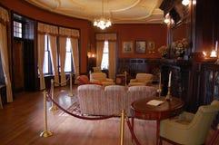 Study de monsieur Henry dans le château de Loma de maison Photo libre de droits