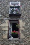 Study of decorative Window Stock Photo