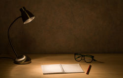 Study desk Stock Images