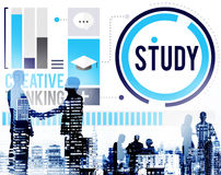 Study Education Knowledge Wisdom Learning Concept Royalty Free Stock Photos