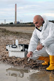Study of environmental pollution Stock Photography