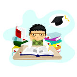 Study. File format is eps 10 Royalty Free Stock Images