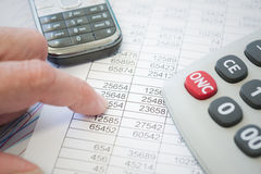 Study of financial opportunities Stock Photos
