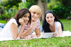 Study group Royalty Free Stock Photo