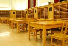 Study Hall of University Library Stock Image