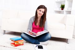 Study at home Royalty Free Stock Photography