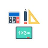 Study Icon Template Royalty Free Stock Photo