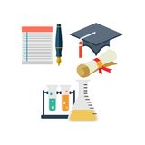 Study Icon Template Stock Photography