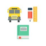 Study Icon Template royalty free illustration
