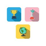 Study Icon Template Royalty Free Stock Photography