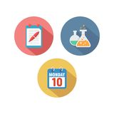 Study Icon Template Royalty Free Stock Image