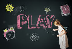 Study Ideas Learn Kids Concept Stock Photo