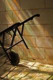 Study of iron cart rainbow light. Stock Image