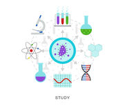 Study lab Stock Images