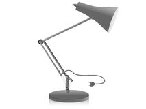 Study lamp. On isolated background Royalty Free Stock Photo