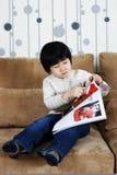 Study of little girl Stock Photo