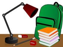 Study materials Stock Image