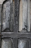 A Study of a an old worn door. A Study of an old, worn door with textures Stock Images