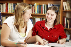 Study Partners Stock Photo
