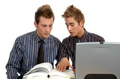 Study Partners Stock Photography