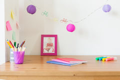 Study place for children Royalty Free Stock Images