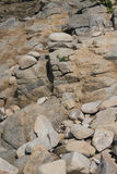 Study of Rocks and boulders Royalty Free Stock Image