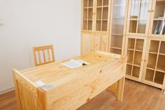 The study room interior royalty free stock photography
