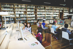 Study Studying Learn Learning Classroom Internet Concept Stock Photography