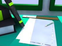 Study table Stock Image