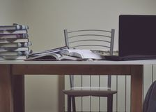 Study table royalty free stock images