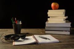 Study table desk Stock Photo