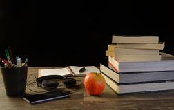 Study table desk Stock Images