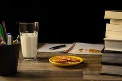 Study table desk Stock Image