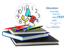 Study time. Conceptual image of education & knowledge Stock Photo