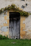 Study of wooden Doorway . Royalty Free Stock Image