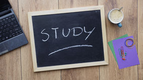 Study written Stock Photography