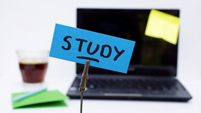 Study written Stock Photography