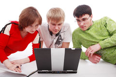 Studygroup Stock Photo