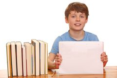 Studying boy Royalty Free Stock Photo