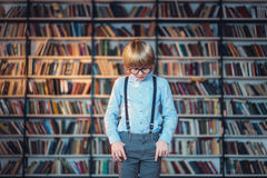 Studying boy royalty free stock photography