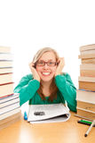 Studying can be entertaining Stock Photography