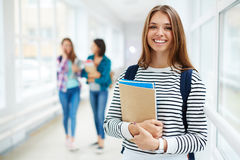 Studying at college Royalty Free Stock Photo